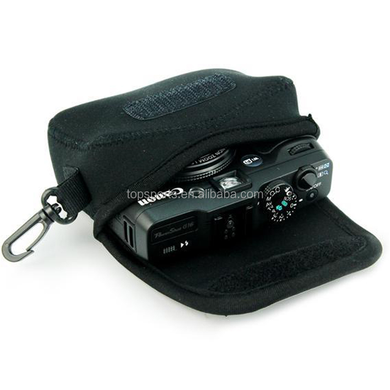 Wholesale neoprene camera case/hard neoprene waterproof antishock camera sleeve/digital camera bag