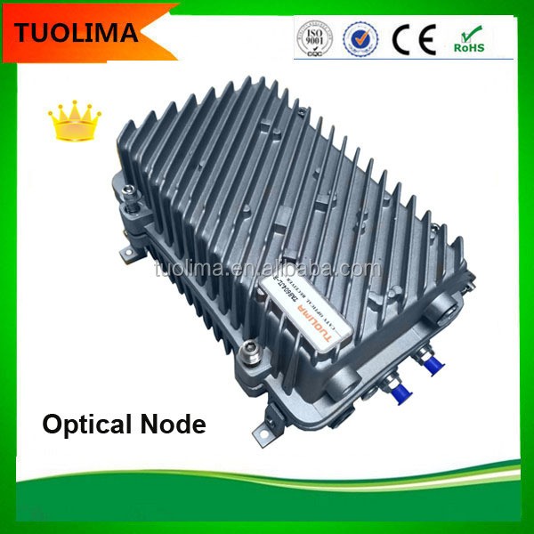 China Supplier Outdoor HFC 4 Way Output CATV Optic Node Price Made In China