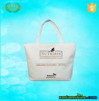 wholesale canvas plain cotton tote bag