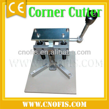 Manual round corner machine