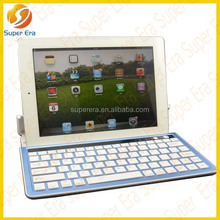 2014 New Metal Aluminum Wireless Bluetooth Keyboard for tablet pc for ipad ,mobile phone smartphones------SUPER ERA