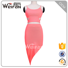Factory Wholesales Plus Size For Summer Fat Women Pink Fancy Girls Night Club Party Dresses
