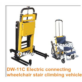 200kg loading weight rehabilitation therapy electric lift handicapped climbing stair chair
