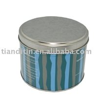 Round Shape Candy Tin Box /Customized Cookie Tin can