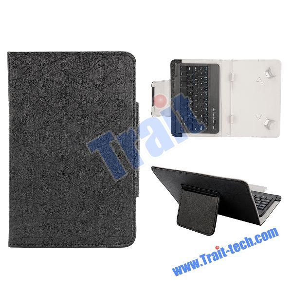 Universal Magnetic Flip Leather 7 inch Tablet Case with Keyboard