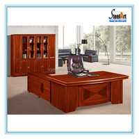 Different style wood products for computer table office used