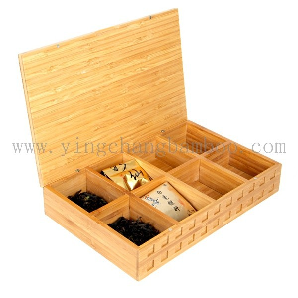 Bamboo black tea chest box