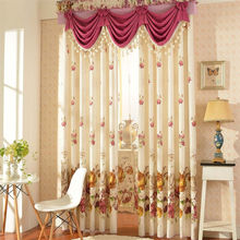 custom curtains with valance or eyelet design