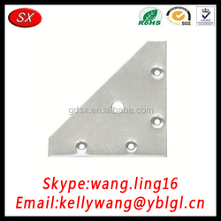 China Manufacturer OEM Stainless Steel/Brass/Cold Rolled Steel Slotted Angle Plate, Corner Mending Palte, Stamping Metal Parts