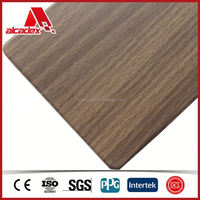 4x8 ft Construction Material, Interior Wood Paneling ACP Supplier