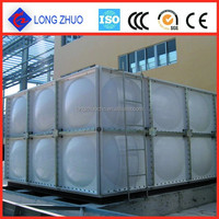GRP insulated water storage tank/ GRP water storage tank for pure water