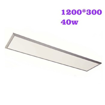 38-40w 1200*300mm 120lm/w Wholesale Square led panel light price