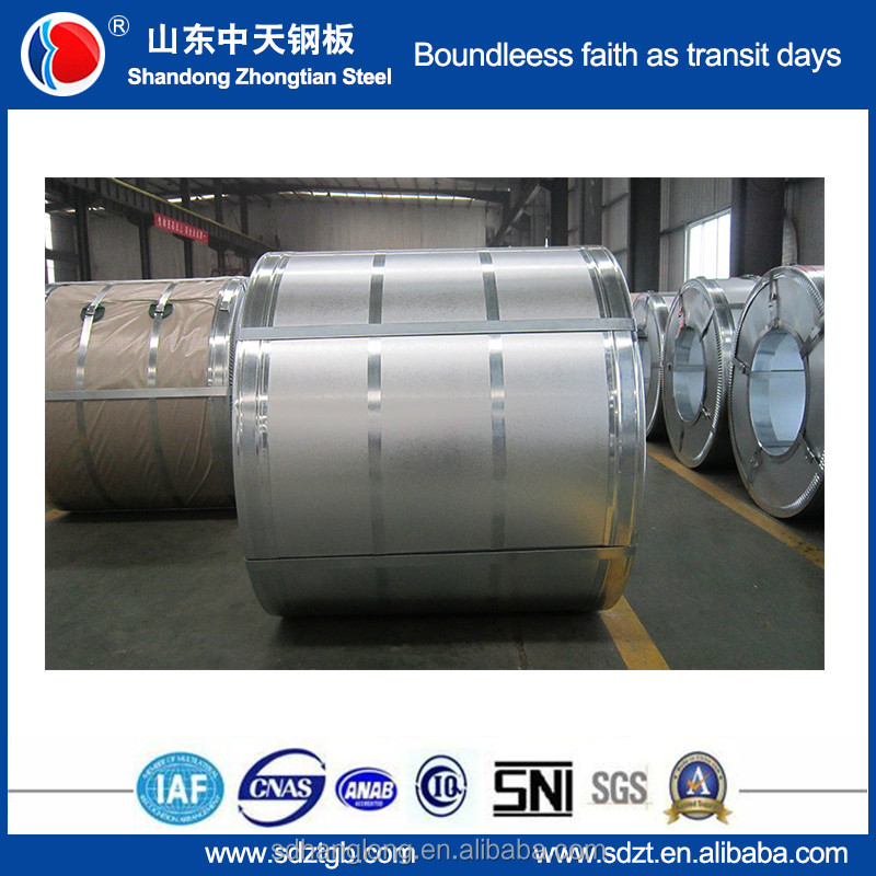 Manufacturer Supplier aluzinc density of galvanized steel coil Full hard HRB 85