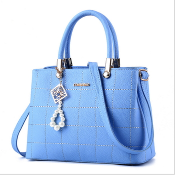 fashion waterproof PU women handbag lady shoulder bag