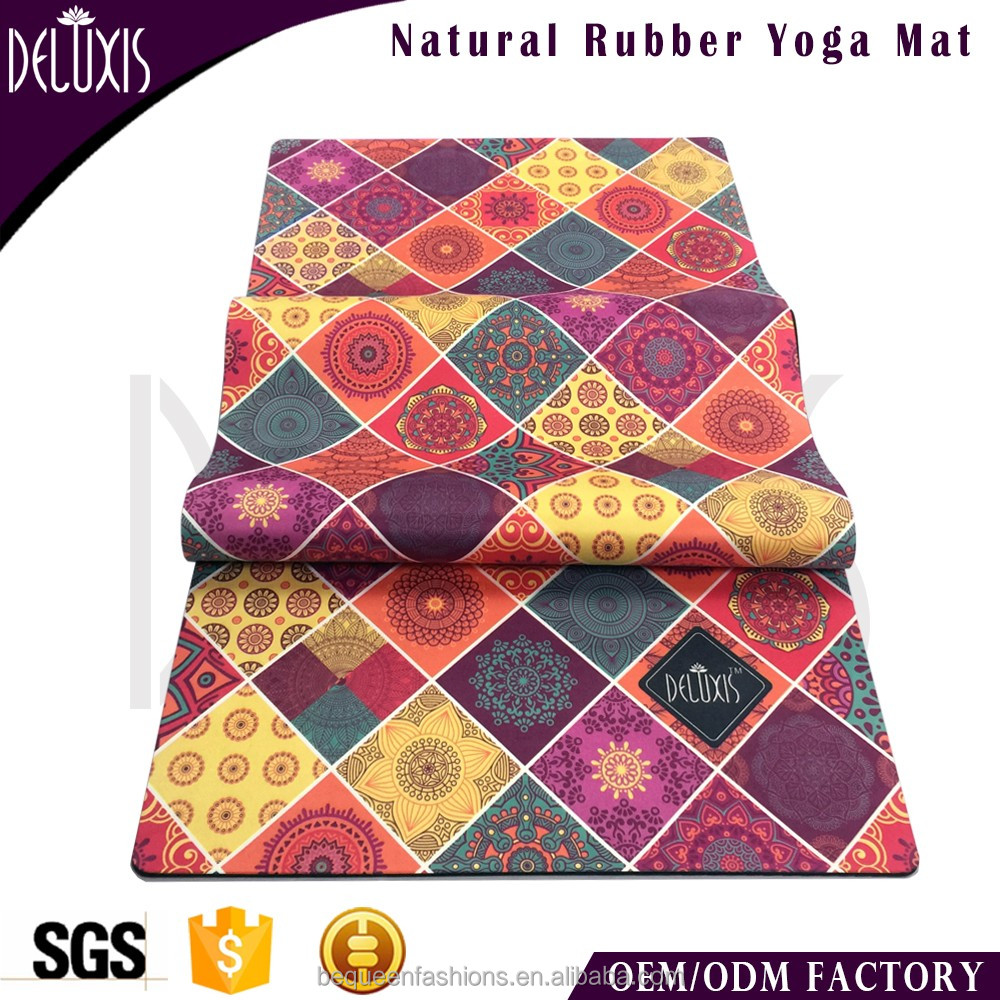 Outdoor travel foldable rhythmic gymnastic microfiber rubber mats