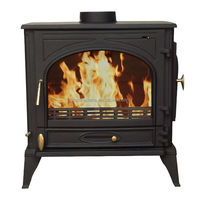Cast Iron Wood Burning Cheap Stove for indoor family use fireplace for sale