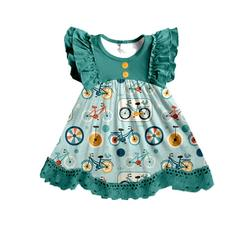 new arrival baby girl summer dress children's high quality clothes girl's lace dress