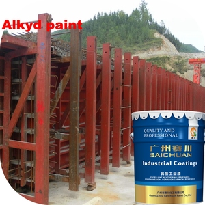 Alkyd enamel metal paint for outdoor wood and metal