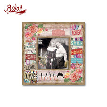 Fashion graffiti love home baby photo frame for bedroom