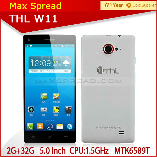 cheap stylish mobile phone THL W11 quad-core 2GB+32GB W11
