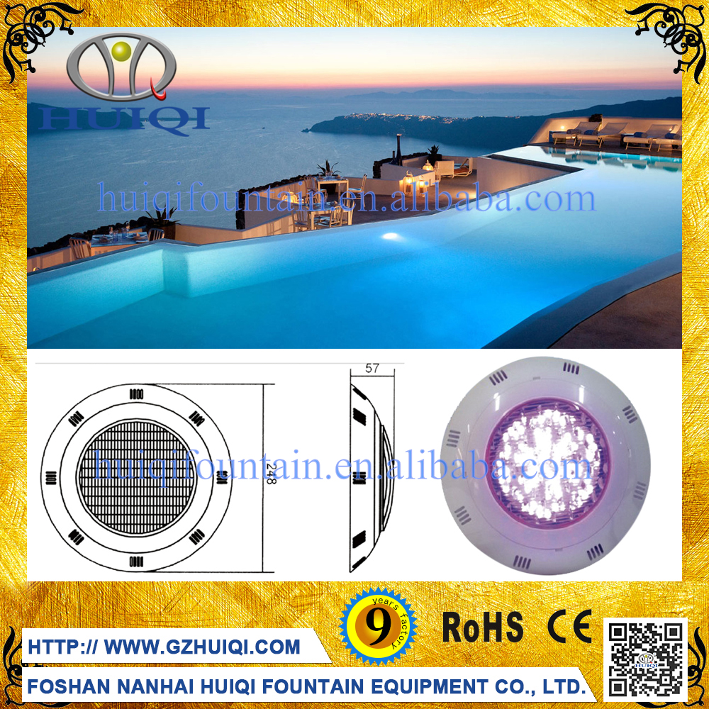 Foshan Factory Manufacturer New Led RGB Remote Control Waterproof Swimming Pool Light