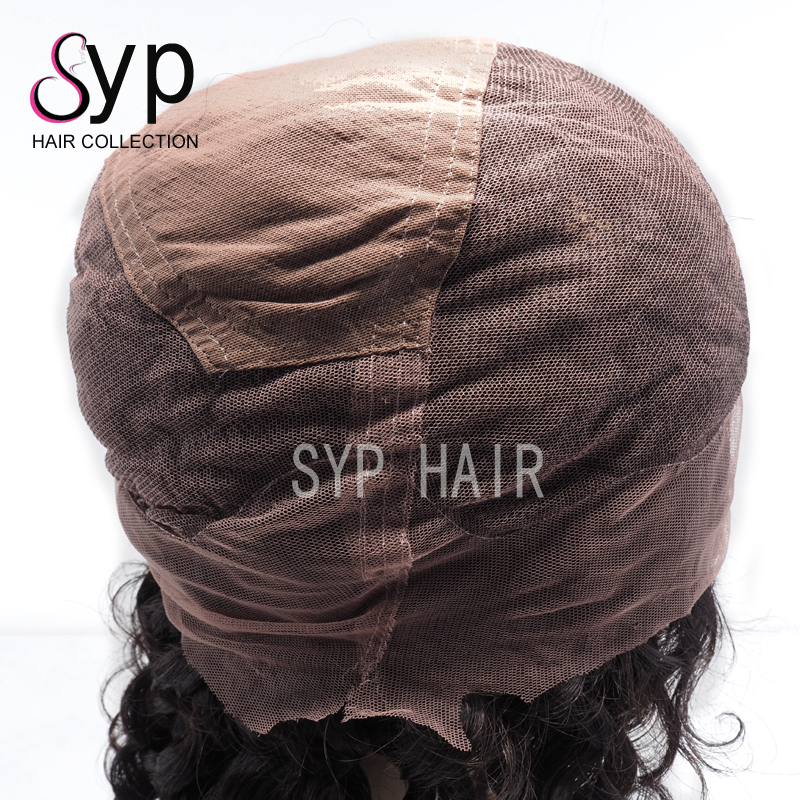 High Quality Large Cap And Size Customizable Human Hair Whole Lace Wigs Short Styles