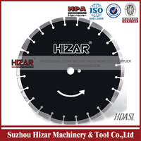 asphalt cutting diamond saw blade laser welding form Suzhou Hizar
