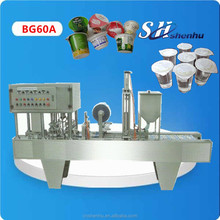 China original hot shanghai olive oil cups filling sealing machine CE standard 1 years warrantee
