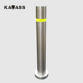 Surface Mount Stainless Steel Permanent Bollards