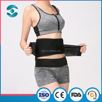 Health Medical magnetic heat tourmaline back support brace