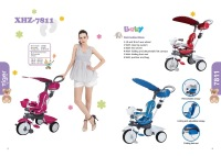 2016 hot children tricycle/baby ride on cars/baby tricycle
