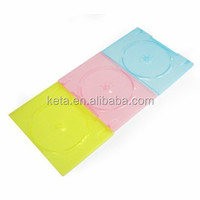 7mm Color Slim Plastic Packaging Case , Single DVD Case