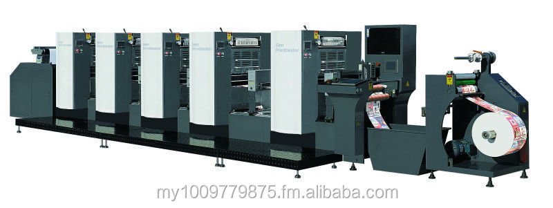 OS 360 OFFSET UV WEB INTERMITTENT ROTARY LABEL PRINTING MACHINES