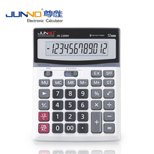 solor calculator office with logo 12 digits dual power solar and electric