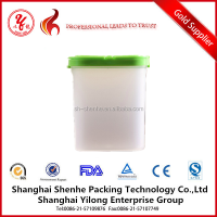 Plastic PP Dried Food Container with Lid