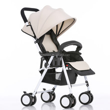 2016 light weight design cheap baby stroller, easy fold stroller for kids made in china wholesale--HN-801