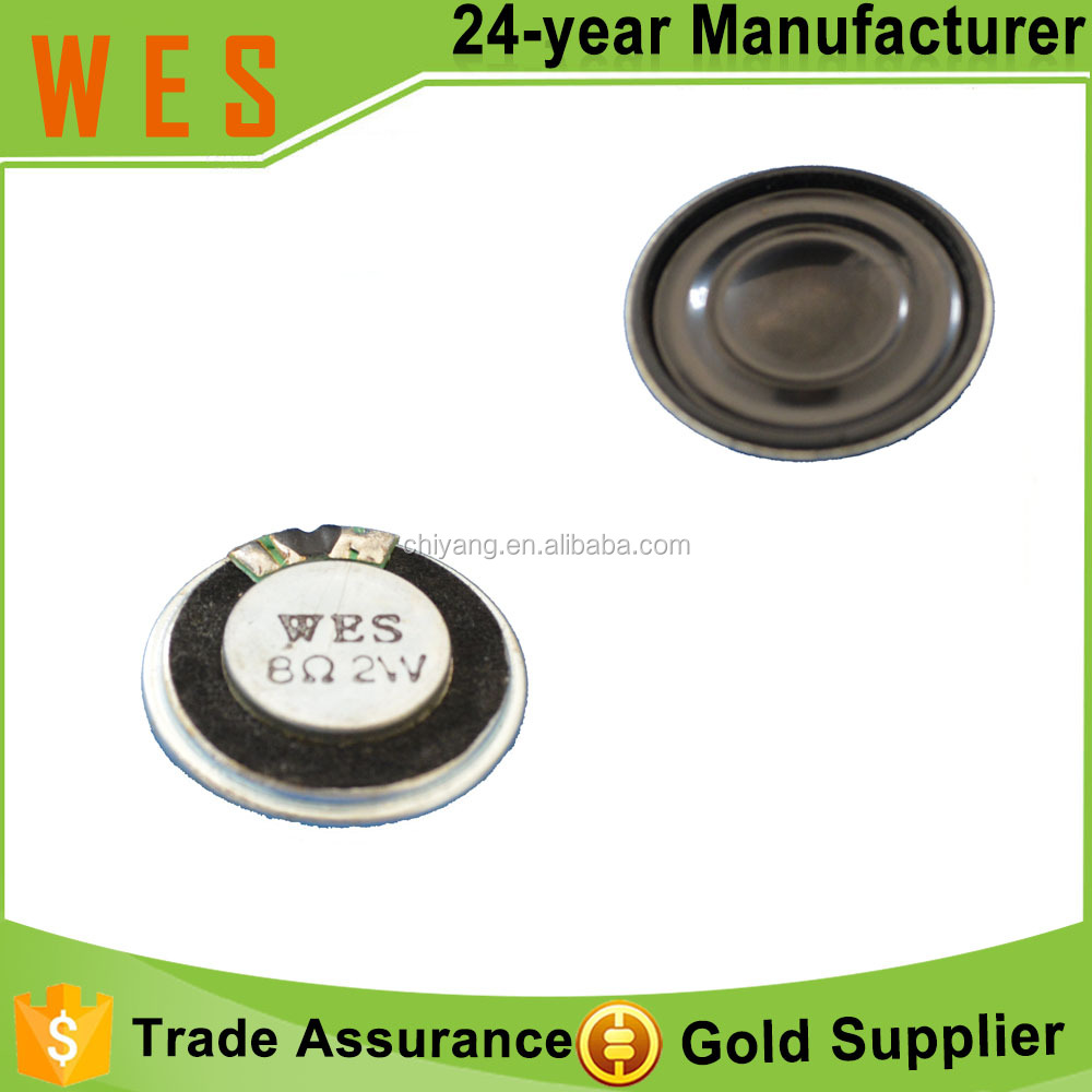8 Ohm 2W 28mm Thin Mylar Speaker
