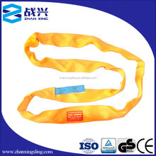 3 ton polyester Synthetic Fiber Rigging Lifting Belt dragging rope lifting sling Round Sling