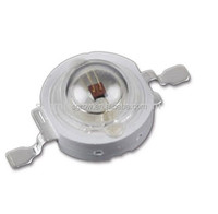 3W led diodes , 3w red 630nm high power led chip for plant grow