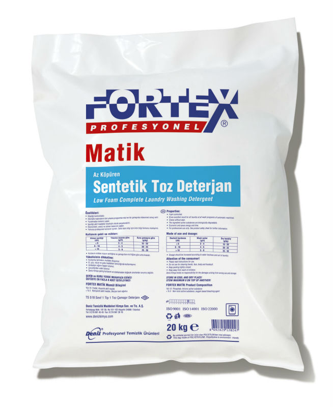 Fortex matic Synthetic Detergent Powder for Laundry