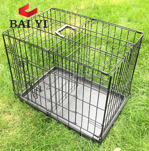 Cheap Metal Wire Pink Dog Cage Factory Direct