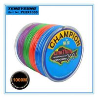 Extra Strong PE Braid Fishing Line 8X strands of braided wire 1000M bulk fishing line