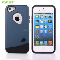 Factory Outlet Mobile Phone Shell TPU+PC Case for iphone 5se