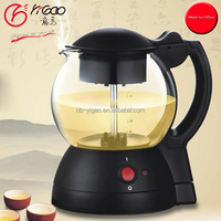 GS Quality 1L 600w Glass Electric Tea Kettle Electric Tea Maker electric tea maker with tray