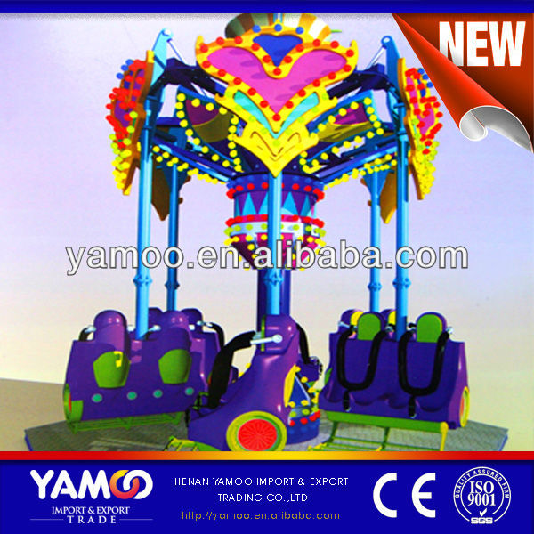 Crazing Amusement Park rides, factory price luxury kiddie rides, 2014 new kiddie rides