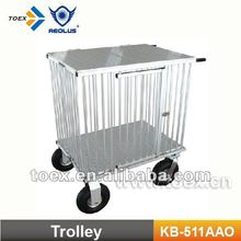 KB-511AAO Light-weighted dog show trolley aluminum dog trolley