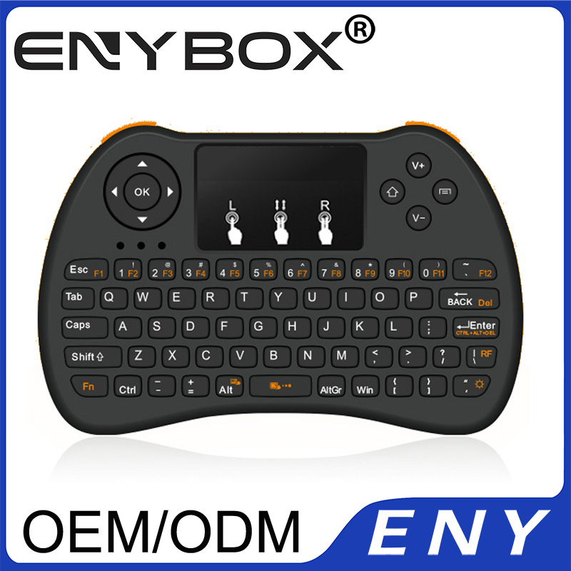 I9 Mini Keyboard With Touchpad 2.4G Wireless Keyboard For Smart Tv
