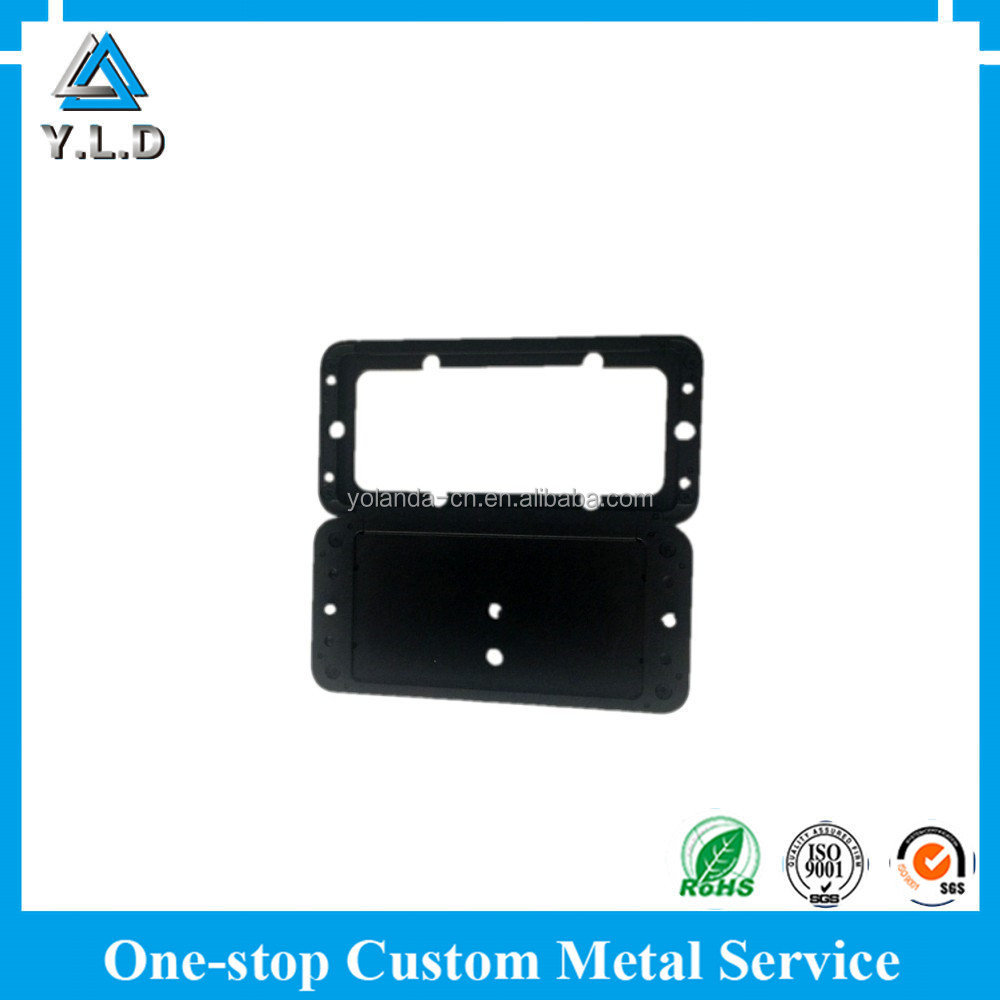 Customized And Exported To USA Ultra Precision Aluminum Oxidized Milling Part For Mobile Phone