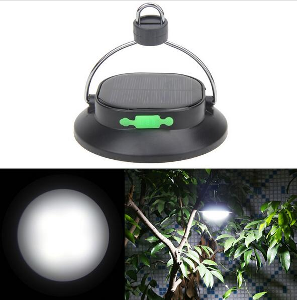 LED solar camping lantern 12 LED Garden Hanging Flashlight Outdoor Hiking Camping Tent Lantern
