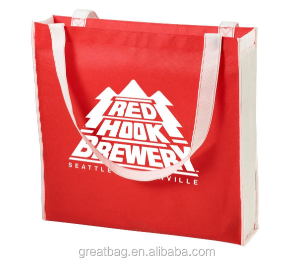 Color Combination Convention Non Woven Tote Bag